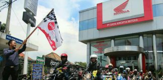 Seribu Pemotor ke Honda Bikers Day 2017