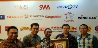 Yamaha V-ixion Meraih Penghargaan Indonesia Best Brand Award