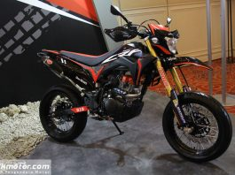 Modifikasi Honda CRF150L Supermoto