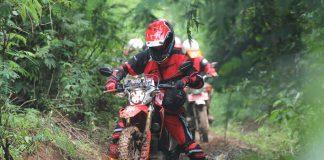 Tes Perdana Honda CRF150L Terabas Alam Bandung