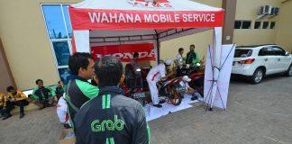 Wahana Honda Melakukan Perawatan Berkala Motor Ojek Online