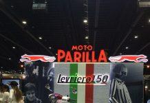 Moto parilla levriero 150