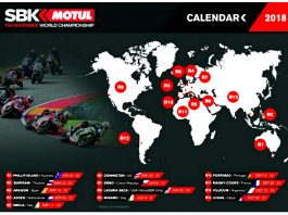 Kalender Sementara World Superbike 2018