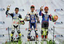 Wahyu Aji Podium di Race 2 Kejurnas Sport 150cc