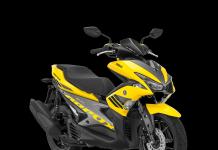 Warna Baru Yamaha Aerox 155VVA