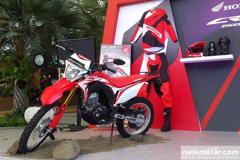 Honda CRF150L Mulai Mengoyang Tangerang