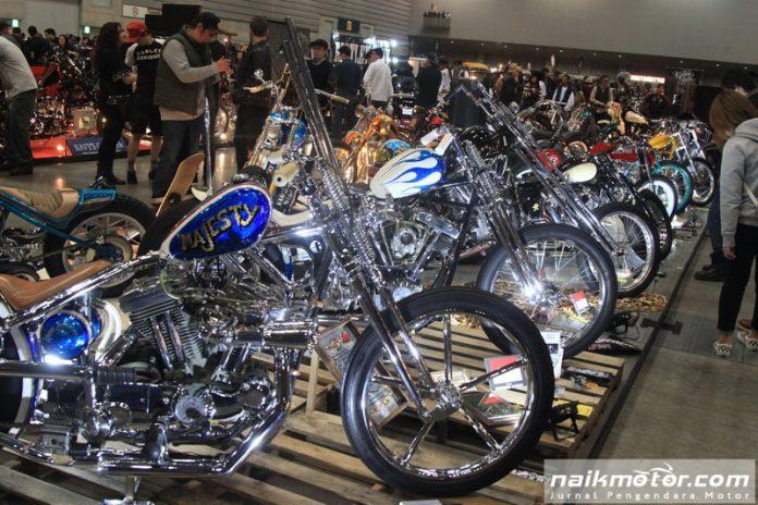 Tim Kustomfest Indonesian Attack ke Yokohama