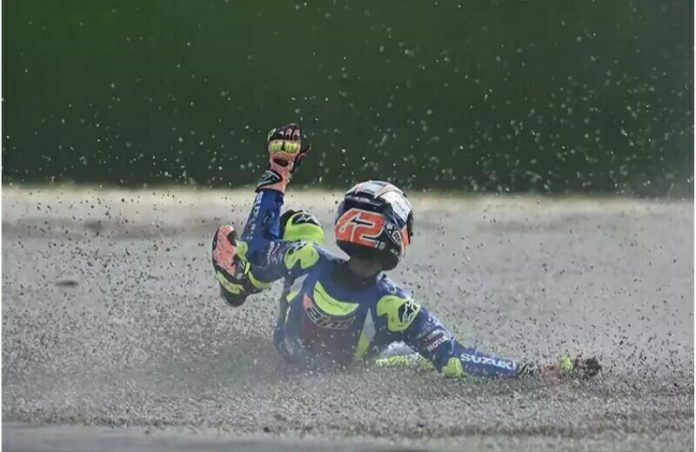 Prestasi Alex Rins Naik Turun di MotoGP 2017