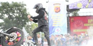 Aksi Freestyler Stuntrock Indonesia
