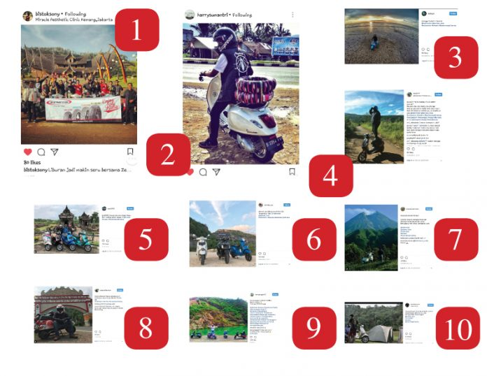 Pemenang Holiday With Your ScooterInstagram Photo Contest