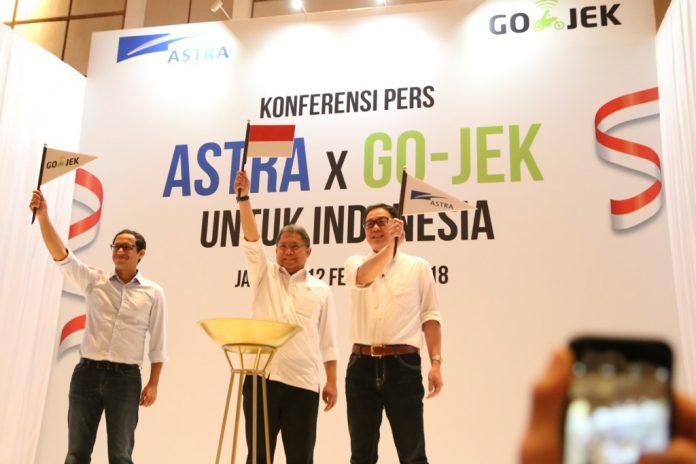 Astra International Kucurkan Investasi Rp 2 Triliun ke Go-Jek