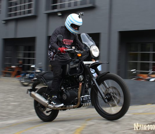 Impresi Pertama Test Ride Royal Enfield Himalayan