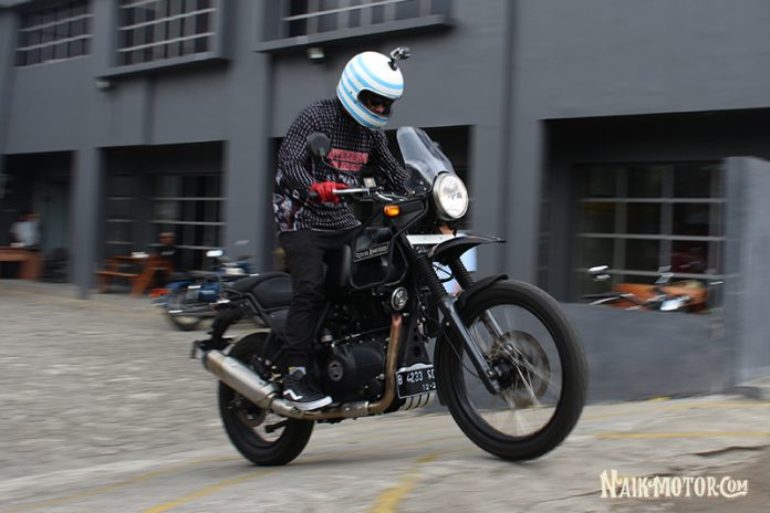 Impresi Pertama Test Ride Royal Enfield Himalayan