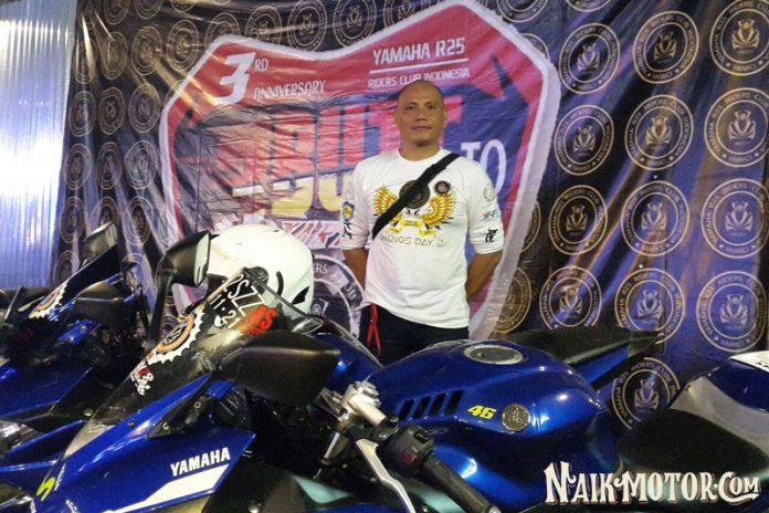 HUT ke-3 Yamaha R25 Riders Club Indonesia