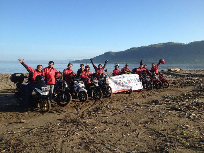 Wahana Riders Club jajal rute viral Ciletuh