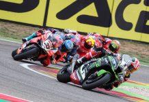 Race 1 WorldSBK 2018 Aragon