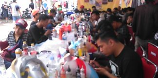 Airbrush Battle di Parjo 2018