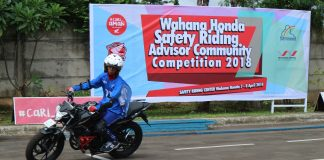 Wahana Honda Safety Riding Advisor Community Competition 2018