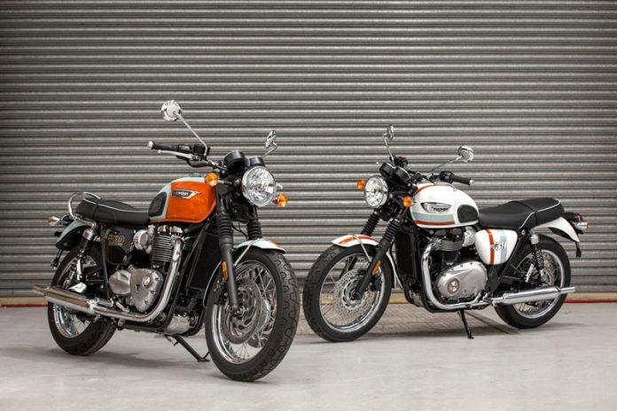 Bonneville T120 dan T100 Special Edition