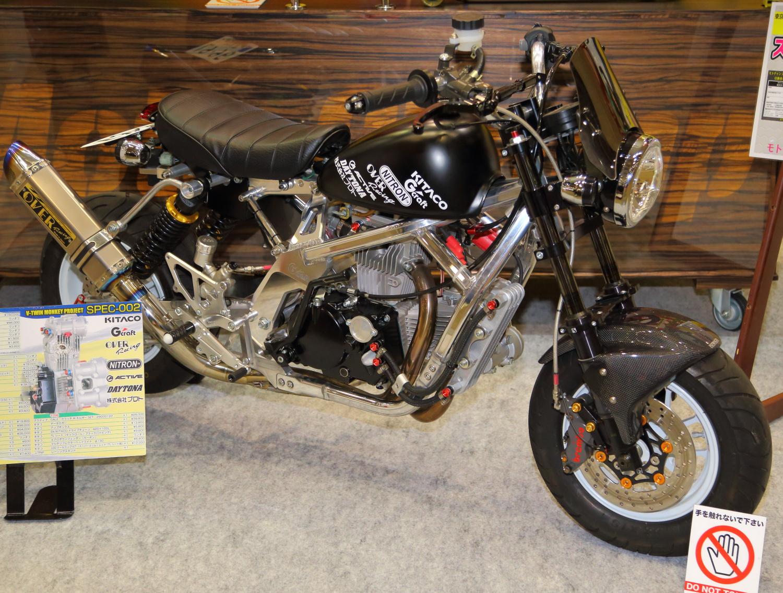 Wong Edan Honda Monkey Ini Pakai Mesin V Twin 176cc