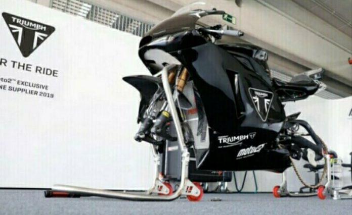 Triumph Moto2 2019 Dites dengan ECU Magneti Marelli