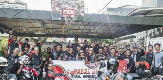 Rebel Owners Community Menggelar Ride