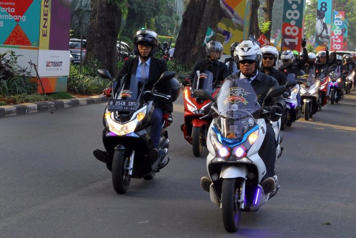 PCX Scooter Ride