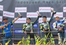 Syahrul Amin Juara Race 2 Sport 150