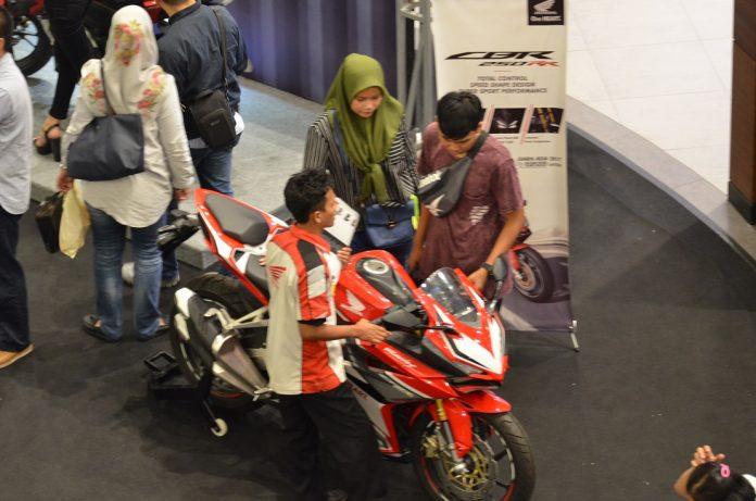 Honda Sport Motoshow 2018 Wahana di Cakung