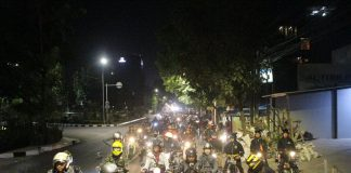 1200 Motor Ramaikan Lebar-Run 2018 Street Demon Indonesia