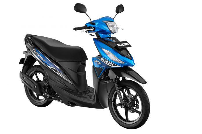 Suzuki Address FI dengan warna baru