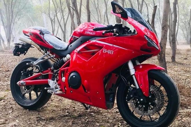Ducati 848 Diproduksi