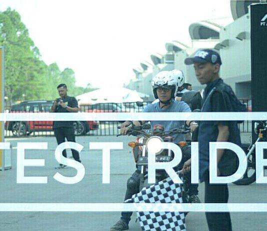 Di GIIAS 2018 Bisa Test Ride Motor Baru