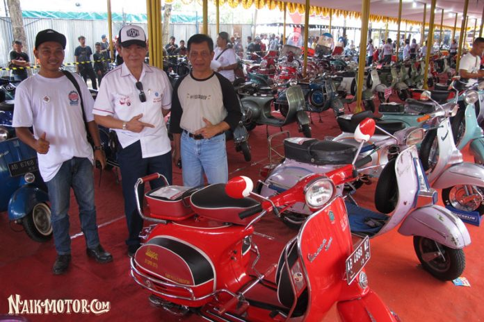 Indonesia Scooter Festival 2018: Lebaran Anak Vespa Digelar 22-23 September