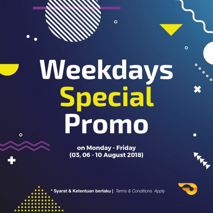 Promo Entry Weekdays di GIIAS 2018