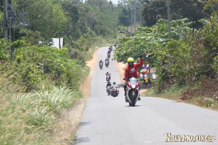 Ride to Belitong Wahana Honda Big Bike