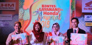 Wahana Meraih Juara di 3 Kategori Kontes Layanan Honda Nasional