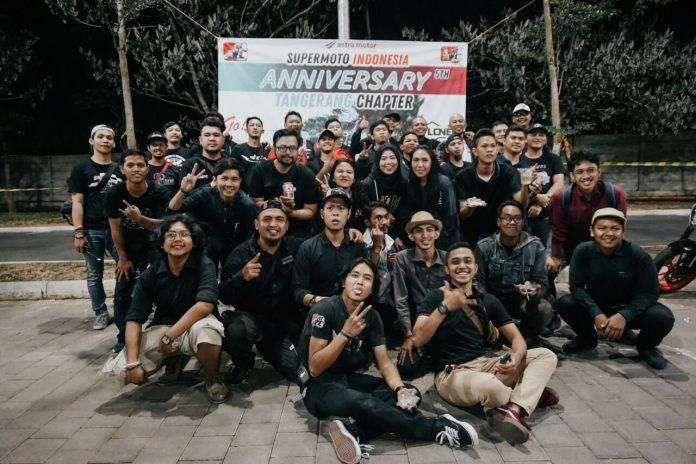 5th Anniversary Supermoto Indonesia Tangerang Chapter