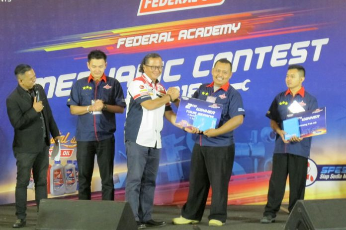 federal lubricants Federal Oil Mechanic Contest