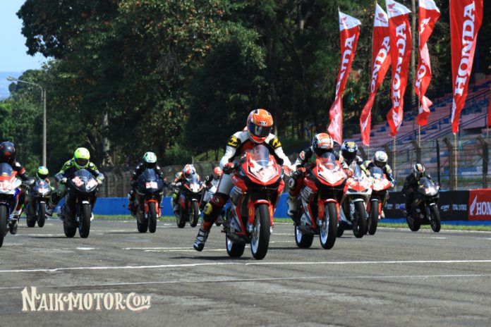 Balap Honda CBR di ICE Day 2019