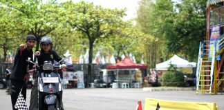 Test Ride Vespa Competition