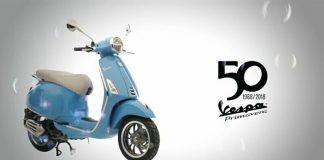 Vespa Primavera edisi 50 Tahun