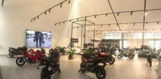 Showroom Kawasaki Abdul Muis Jakarta Dibuka