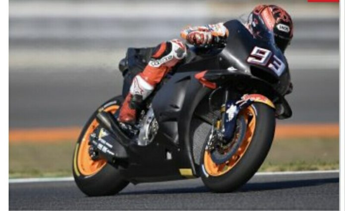 Marquez Ternyata Mengetes Motor Honda MotoGP 2019 di Misano