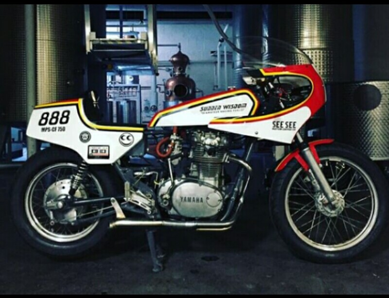 Vodka Untuk Yamaha Xs850 1980 Custom Bisa Memecahkan Rekor Kecepatan