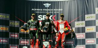 Race 1 WorldSBK 2018 Magny Cours