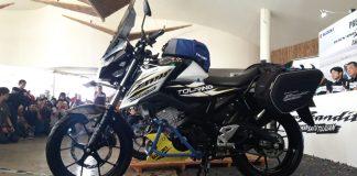 Memodifikasi Suzuki GSX150 Bandit Versi Touring