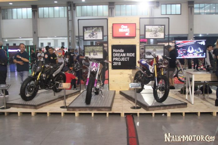Honda Dream Ride Project dan CBR250RR Virtual Modification Challenge