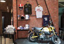 Apparel Brand Lokal Mejeng di Booth Honda