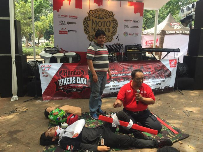 Gas ke Honda Bikers Day 2018